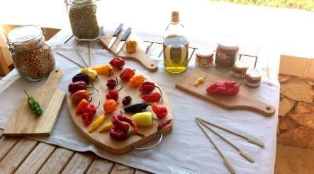 Degustazione di peperoncini del mondo